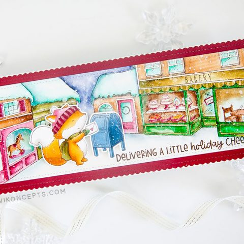 Purple Onion Designs: A Little Holiday Delivery