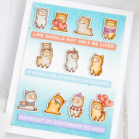 Mama Elephant Stamp Highlight: Easy Sentiments