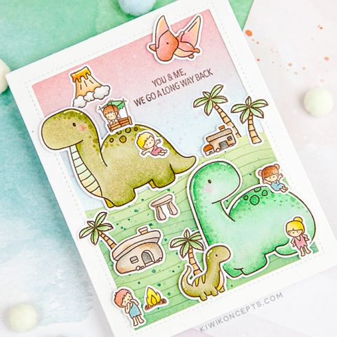 Mama Elephant Stamp Highlight: Me and My Dinosaur