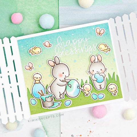 Mama Elephant Stamp Highlight: Eggtastic