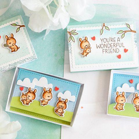 Mama Elephant Stamp Highlight: Little Kangaroo Agenda