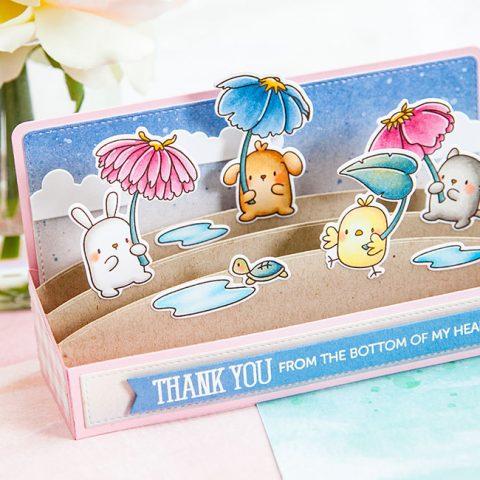 Mama Elephant Stamp Highlight: Flower Shower