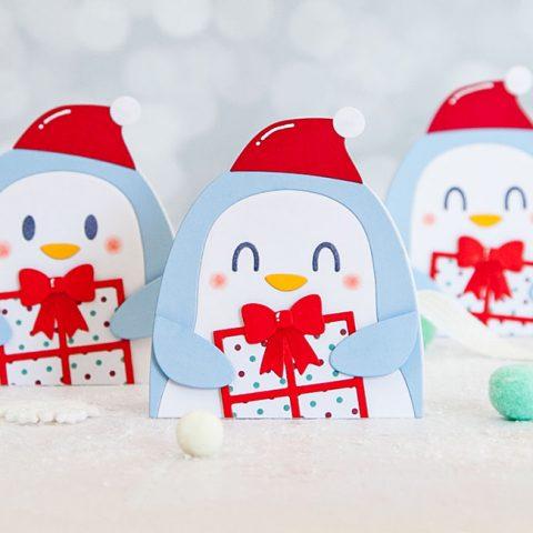 Mama Elephant Designer Series: Mini Penguin Holiday Cards